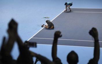 Ο τελευταίος πόντος που έκανε τον Τσιτσιπά τον βασιλιά του ATP Finals