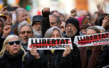 Η Διεθνής Αμνηστία καλεί την Ισπανία να αποφυλακίσει δύο ηγέτες της Καταλονίας