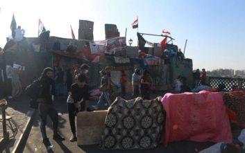 Ιράκ: Δύο νεκροί και 38 τραυματίες διαδηλωτές στη Βαγδάτη