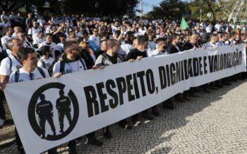 Αστυνομικοί στην Πορτογαλία έγιναν για λίγο… διαδηλωτές