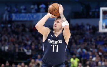 Ο Ντόνσιτς έγινε ο νεότερος παίκτης του NBA με 30+ πόντους και 10+ ασίστ σε τρία σερί ματς