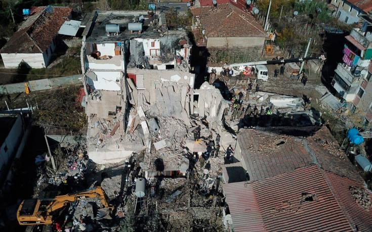 Φονικός σεισμός στην Αλβανία: Μεγαλώνει ο απολογισμός των νεκρών, αγωνία για τους αγνοούμενους
