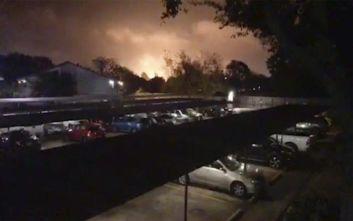 Εκκενώνονται πόλεις στο Τέξας μετά από νέα έκρηξη στο χημικό εργοστάσιο