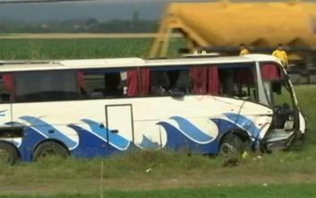 Θανατηφόρο τροχαίο με λεωφορείο στη Σλοβακία: Στους 12 οι νεκροί από τη σύγκρουση