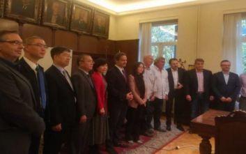 Δημιουργείται δίκτυο εμπορικής συνεργασίας Αθήνας και Πεκίνου