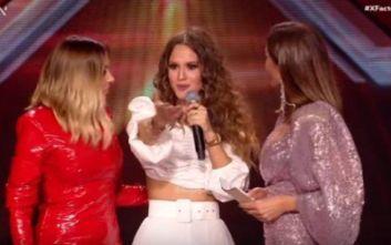 X Factor: Αποχώρησε η Λίλα Τριάντη