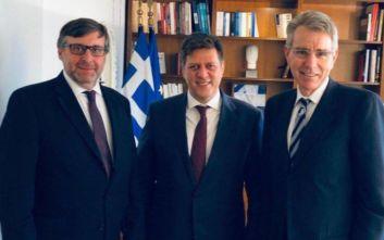 Τα Βαλκάνια στο επίκεντρο της συνάντησης Βαρβιτσιώτη-Πάλμερ
