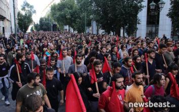 Πολυτεχνείο: Φοιτητικό συλλαλητήριο στο κέντρο, κλειστή η Πανεπιστημίου