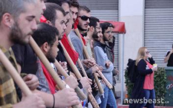 Πορεία φοιτητών και κλειστοί δρόμοι στο κέντρο της Αθήνας