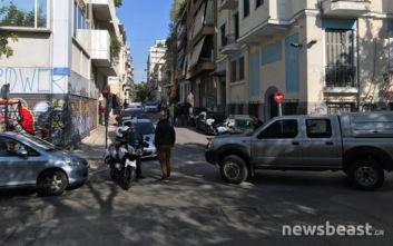 Συναγερμός για ύποπτο αντικείμενο σε εγκαταλελειμμένο κτίριο στα Εξάρχεια