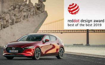 Το νέο Mazda 3κατέκτησε το βραβείο «Best of the Best» στα Red Dot 2019