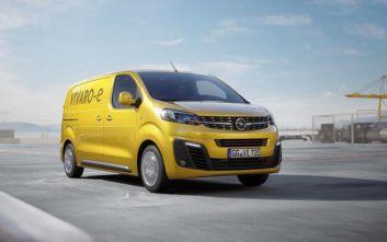 Και σε Ηλεκτροκίνητη Έκδοση το Opel Vivaro