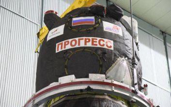 Ρωσία: Αναβλήθηκε η εκτόξευση διαστημικού πυραύλου που μεταφέρει εφόδια