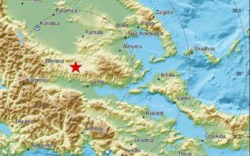 Σεισμός τώρα στη Λαμία