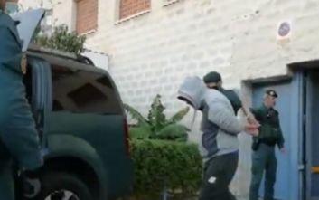 Σέρχιο Κόκε: Το βίντεο από την επιχείρηση «Maskoke» για το κύκλωμα ναρκωτικών