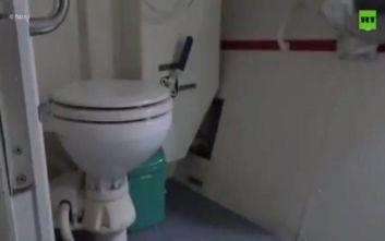 Ξέσπασε ο «πόλεμος» της… τουαλέτας ανάμεσα σε Ρωσία και Ουκρανία