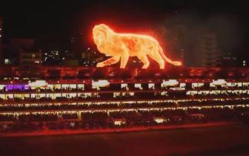 Το φλεγόμενο λιοντάρι που φυλάει το νέο γήπεδο της Εστουδιάντες