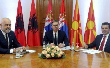Σερβία, Αλβανία και Βόρεια Μακεδονία δημιουργούν τη δική τους «Σένγκεν»