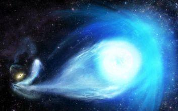 Άστρο-πύραυλος εκσφενδονίστηκε μακριά από τη μαύρη τρύπα του γαλαξία μας και ταξιδεύει με ταχύτητα-ρεκόρ