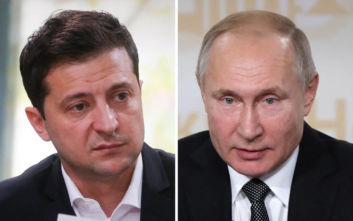 Ολοταχώς για face to face συνάντηση Ζελένσκι-Πούτιν στο Παρίσι