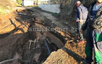 Λαμία: Έπεσε σε χαντάκι με λάσπη, τον βρήκαν μια ώρα μετά