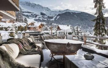 Το ελβετικό σαλέ που φτάνει πολύ μακριά σε όρους πολυτέλειας