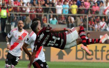 Τελικός Κόπα Λιμπερταδόρες: Η Φλαμένγκο κατέκτησε το τρόπαιο με μυθική ανατροπή