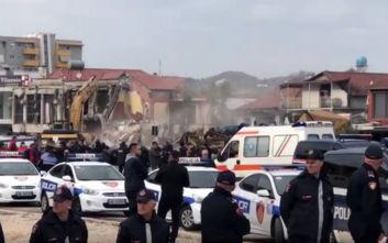 Άγρια επεισόδια στα Τίρανα με 12 τραυματίες: Αντιδρούν στις κατεδαφίσεις σπιτιών