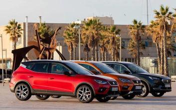 Με τα τρία SUVs στην Αυτοκίνηση 2019 η Seat