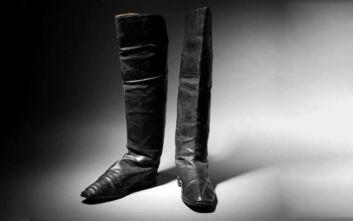 Στο σφυρί ένα ζευγάρι μπότες που φόραγε ο Μέγας Ναπολέων