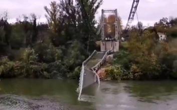 Δύο νεκροί από κατάρρευση γέφυρας στη Γαλλία