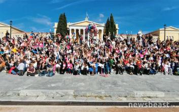 Παγκόσμια Εβδομάδα Δημόσιου Θηλασμού, το μήνυμα της εκδήλωσης στο Ζάππειο