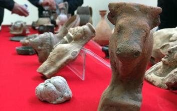 Σπείρα στην Ιταλία άρπαξε πάνω από 10.000 αρχαία αξίας πολλών εκατομμυρίων