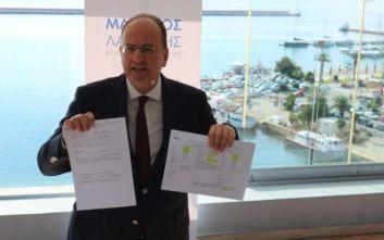 Λαζαρίδης: Δίνω στη δημοσιότητα το πόθεν έσχες και τα εκλογικά μου έξοδα