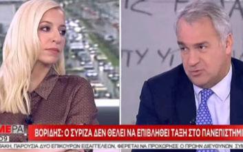 Μάκης Βορίδης: Το ξύλο είναι στοιχείο αναγκαστικότητας