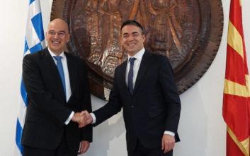 Επίσκεψη Δένδια στα Σκόπια: Η Ελλάδα υποστηρίζει την ευρωπαϊκή προοπτική των Δυτικών Βαλκανίων