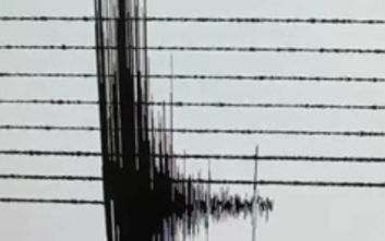 Ισχυρός σεισμός σε Κρήτη - Κύθηρα: Η καταγραφή του από τον σεισμογράφο