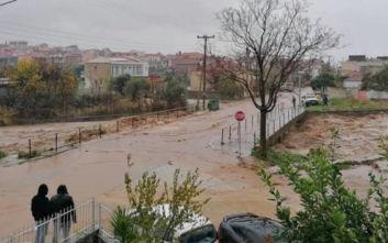 Κακοκαιρία: Πνίγηκε στη λάσπη η Θάσος