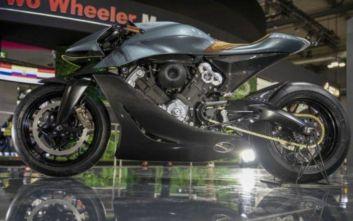Η Aston Martin παρουσίασε μοτοσικλέτα-διαμάντι που στοιχίζει 108.000 ευρώ