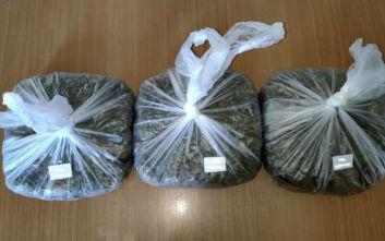 Λαμία: Οι Αστυνομικοί εντόπισαν σχεδόν τρία κιλά «ορφανά» ναρκωτικά