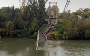 Τι προκάλεσε την κατάρρευση της γέφυρας σε ποταμό της Γαλλίας