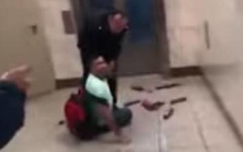 Οι σπαρακτικές κραυγές μικροπωλητή για να μην τον συλλάβει αστυνομικός