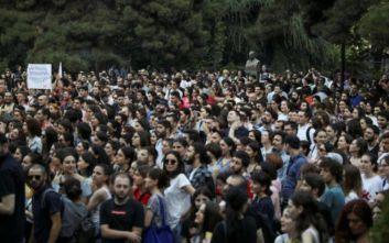 Γεωργία: Περίπου 20.000 διαδηλωτές ζήτησαν πρόωρες εκλογές