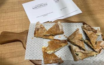 Παραδοσιακές πίτες στο μενού του Κωσταρέλου