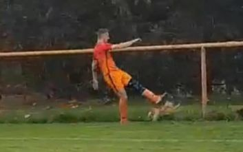 Ποδοσφαιριστής σκότωσε κότα την ώρα του αγώνα και αποβλήθηκε