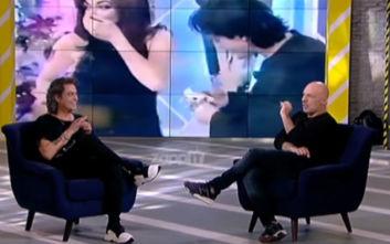 Η εξομολόγηση του Διονύση Σχοινά για την πρόταση γάμου στην Καίτη Γαρμπή