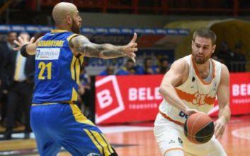 Basket League: Προμηθέας - Περιστέρι 64-60  - Έσπασε το αήττητο του Περιστερίου