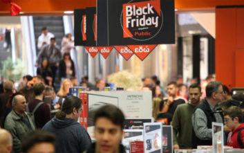 Μια βόλτα στην αγορά δείχνει ποιος είναι ο νικητής της Black Friday