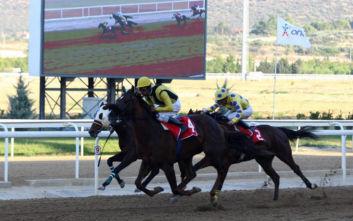 Το κύπελλο ΟΥΙΛΛΙΑΜ ΡΗΖ στην πρώτη ιπποδρομιακή συγκέντρωση του Νοεμβρίου στοMarkopoulo Park