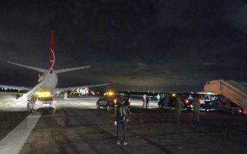 Αεροπλάνο βγήκε από τον διάδρομο μετά την προσγείωσή του στην Οδησσό